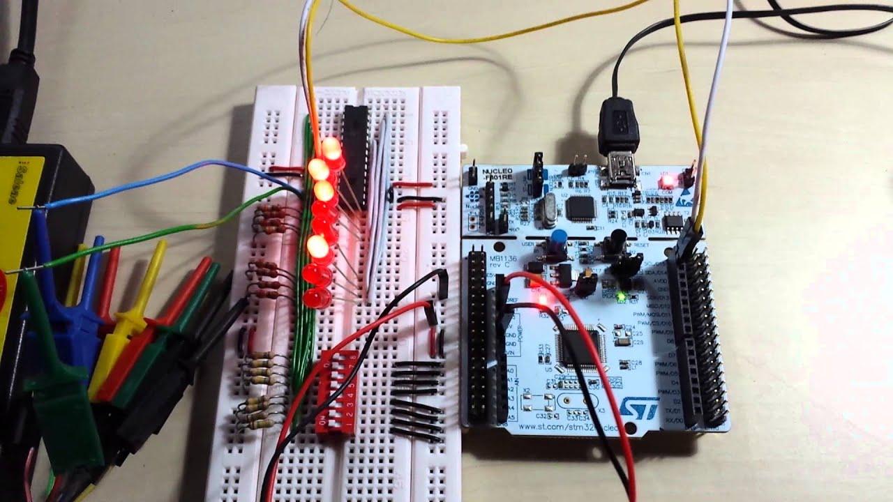 Nucleo F401RE, I2C Demonstration