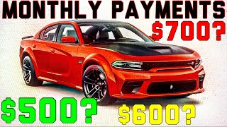 dodge charger scat pack monthly payment MONTHLY PAYMENT on 2 Dodge Charger SCAT PACK WIDEBODY