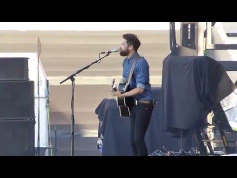 Passenger performing I hate at Ed Sheeran concert