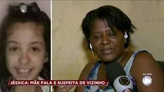 Mãe de Jéssica fala com o Cidade Alerta após a morte da criança