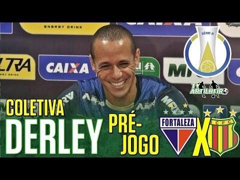 [Série B '18] Coletiva Derley | Pré-jogo Fortaleza EC X Sampaio Corrêa FC | TV ARTILHEIRO