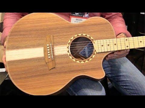 SNAMM '17 - Cole Clark Guitars Angel 2 Demo