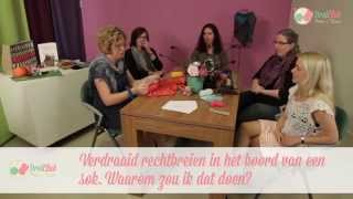 Verdraaid recht breien in een boord van een sok - door Breiclub.nl panel