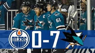 Sharks vs Oilers | Game 4 | Highlights | Apr. 18, 2017 [HD]