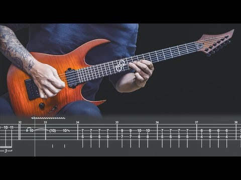 "Ola Englund - ""Solar Burst"" HOW TO PLAY - Tab in video"