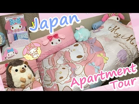 My Japanese apartment ♥ kawaii room tour [J Vlog 9]