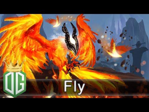OG.Fly Phoenix Gameplay - Ranked Match -  OG Dota 2