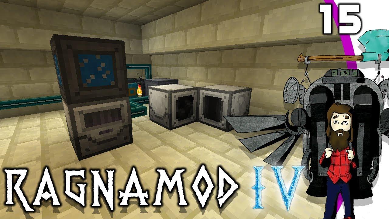 [Minecraft] Ragnamod IV #15 - Industrial Foregoing