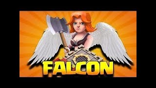 How to FALCON W/Wo Siege - TH10 3 Star Attack | Th10 QueenWalk Falcon | Th10 Best Clash of Clans