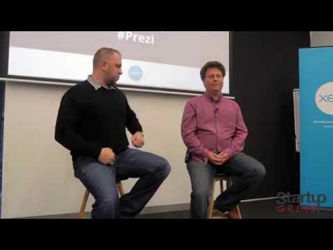 Startup Grind hosts Péter Halácsy (Prezi)
