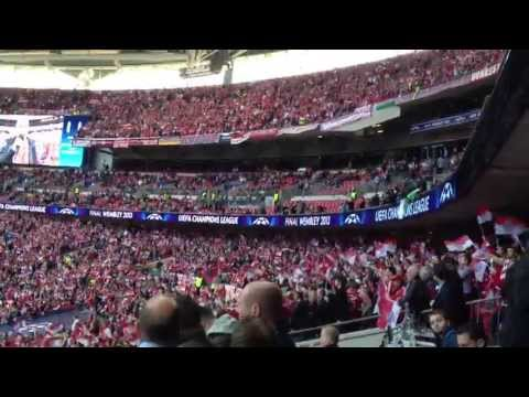 Official songs Champions League Final 2013 Wembley : Borussia Dortmund - Bayern Munich