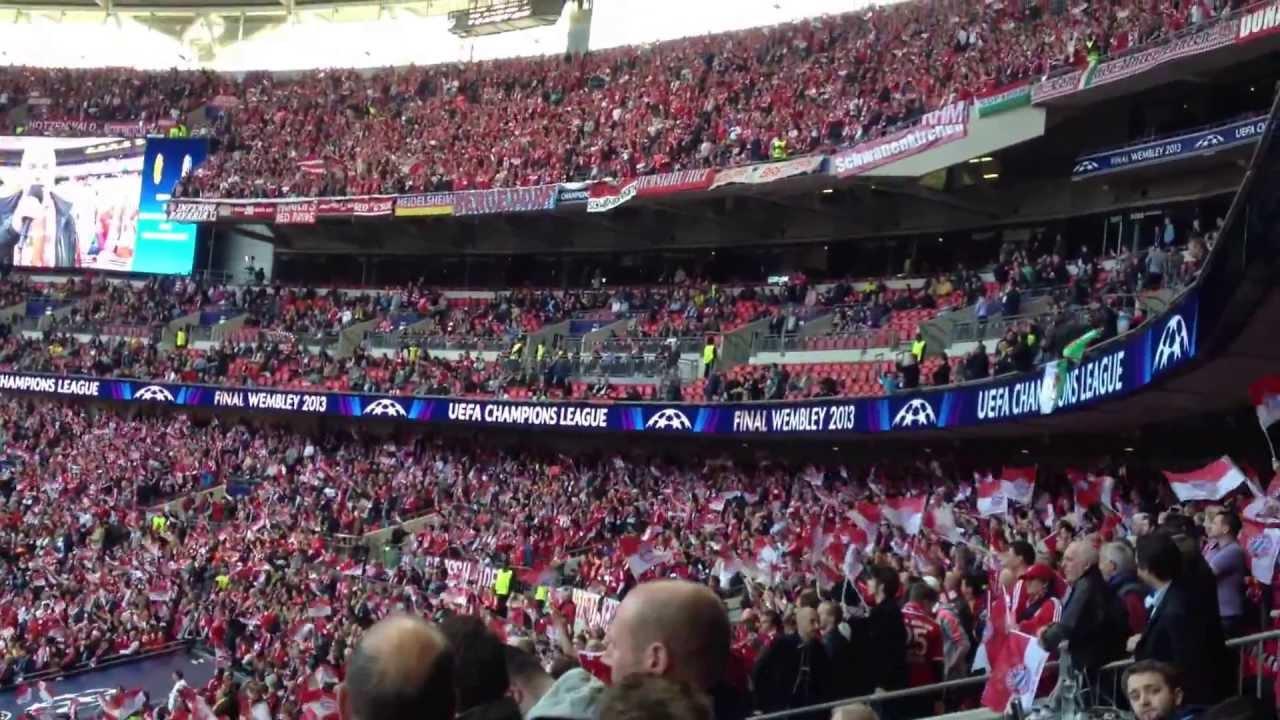 Official Songs Champions League Final 2013 Wembley Borussia Dortmund Bayern Munich Youtube