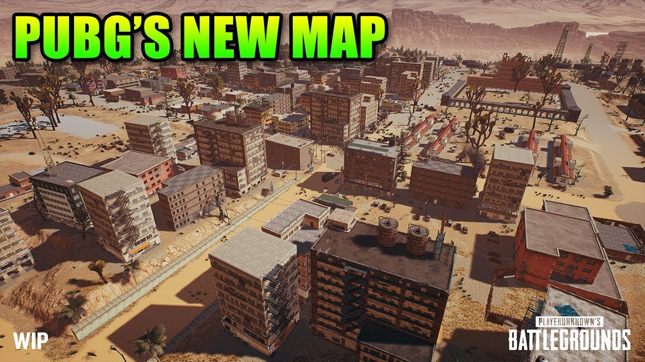 New Pubg Map Is Coming By July: PUBG Desert Map Teased & Tournament Rant