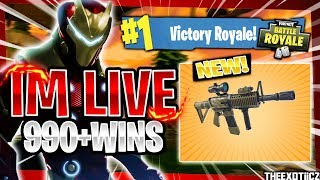 GETTING 1,000 WINS! TOP PS4 SOLO PLAYER! | 920+ SOLO WINS | Fortnite Battle Royale LIVE