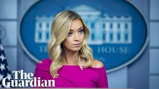 Coronavirus Us: White House Press Secretary Kayleigh Mcenany Holds Briefing – Watch Live