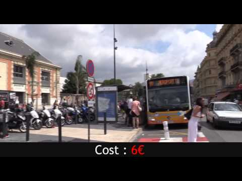 bus 99 central station / Nice transport Airport
