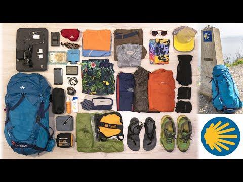 Camino de Santaigo Packing List 2018