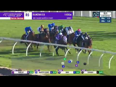 Winx wins the Warwick Stakes 2017 at Randwick