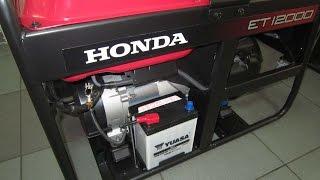 Ремонт и обслуживание Хонда/Honda ET 12000 - трехфазный бензиновый генератор