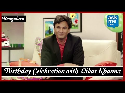 Birthday Celebration Ideas: Party Places in Bengaluru | Chef Vikas Khanna