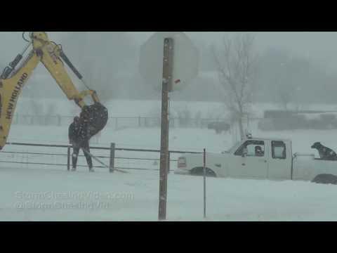 Hays, KS Blizzard Shuts Down Interstate 70 - 2/23/2019