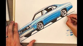 72 Plymouth Duster Sketch - Tips & Tricks