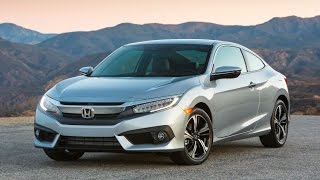 2016 Honda Civic Coupe, the sportiness goes well beyond mere appearance.