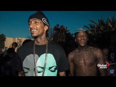 Nipsey Hussle Ft. Cuzzy Capone - On Tha Floor TRIBUTE /REMIX (prod. By Mr. Fulton)