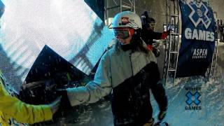 GoPro HD: Eric Willett Snowboard Big Air Practice Highlights – Winter X Games 2012
