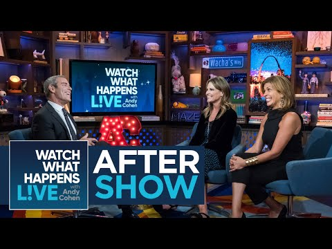 After Show: Savannah Guthrie And Jenna Bush Hager's Friendship   WWHL