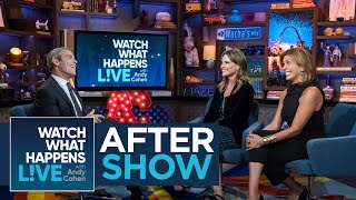 After Show: Savannah Guthrie And Jenna Bush Hager's Friendship | WWHL