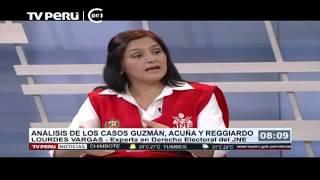 TV Perú Noticias | Entrevista A Especialista Del JNE Sobre Derecho Electoral