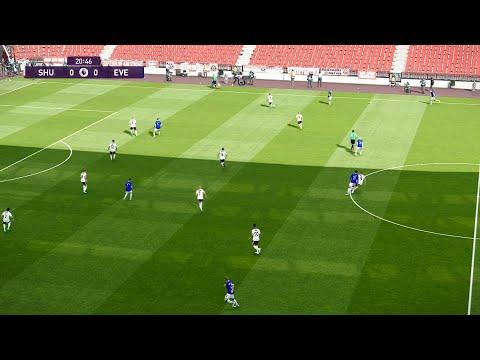 Download Sheffield vs Everton | Premier League | 20 July 2020 | PES 2020