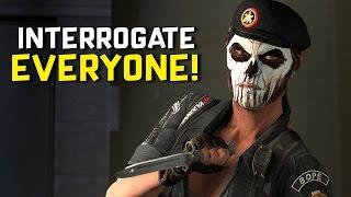 INTERROGATE EVERYONE - Rainbow Six: Siege (Caveira Gameplay)