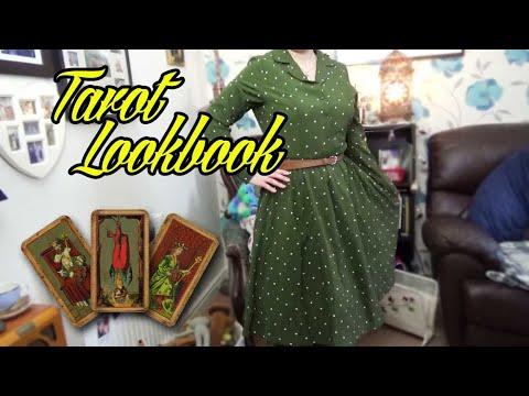 [VIDEO] - Tarot inspired vintage fashion lookbook [CC] 9