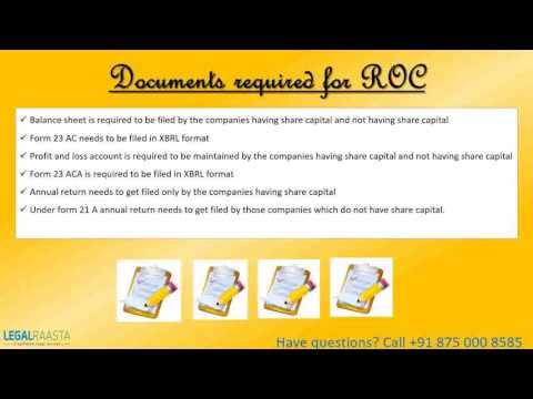 File ROC Compliance