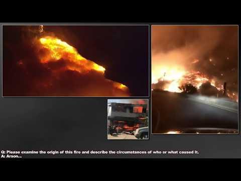 Dr. Douglas James Cottrell: The California Thomas Fire