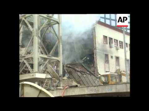 YUGOSLAVIA: REACTION TO NATO ATTACK ON STATE TV STATION