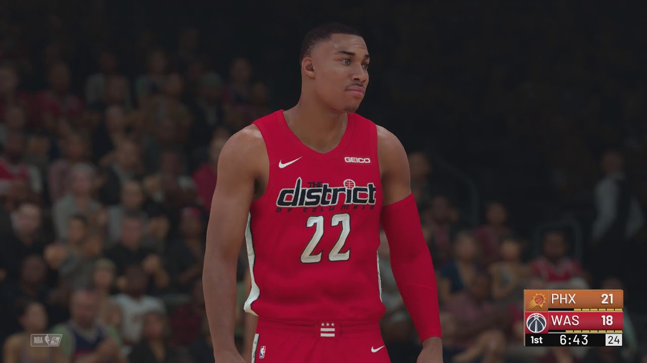 fe0395dcf20 NBA 2K19 - Phoenix Suns vs Washington Wizards (City Jerseys) - YouTube