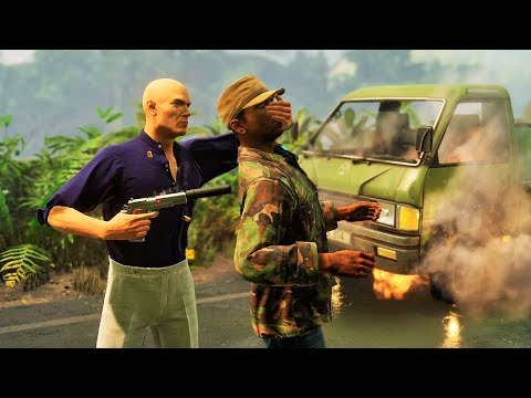 Hitman 2 Stealth & Epic Kills Colombia Vol.2 (Gameplay Montage)