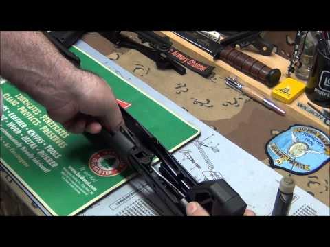 Kel-Tec KSG Shotgun disassemble & reassemble