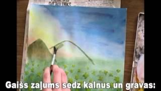 EduardsVeidenbaums Jau ziediem rotātas pļavas