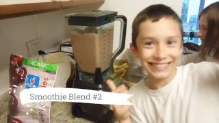 Smoothie Recipe Made by Kids!!