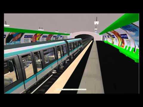 MSTS Metro Parisien - Ligne 4 - Porte de Clignancourt - Porte d'Orléans