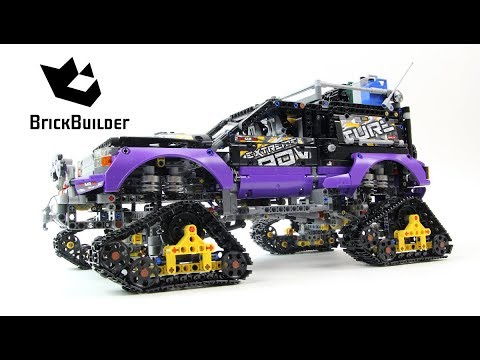 Lego Technic 42069 Extreme Adventure - Lego Speed build - YouTube