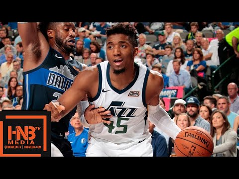 Utah Jazz vs Dallas Mavericks Full Game Highlights | 10.28.2018, NBA Season