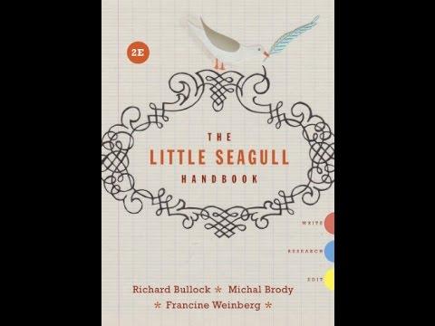 Pdf the little seagull handbook youtube