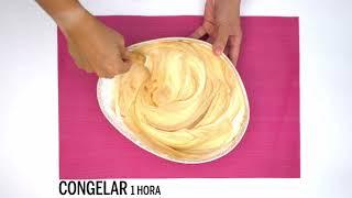 Delicioso, receta rápida: Mousse helada de dulce de leche - YO DONA
