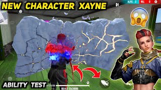New Character Xayne Ability Test | Free Fire New Character Xayne Skill Test and Gameplay.