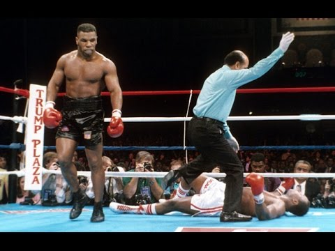 Ali asks Tyson to TAKE REVENGE on Holmes!! Highlights and Knockout!